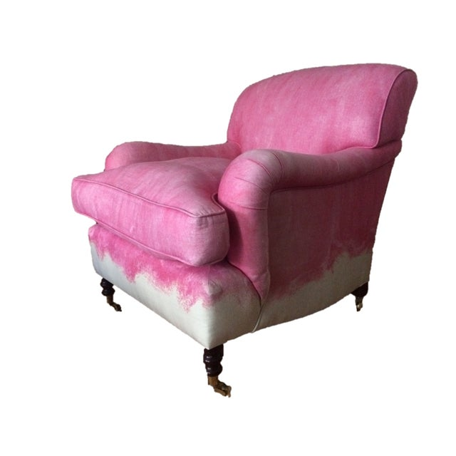 George Smith Pink Signature Armchair - Image 6 of 7