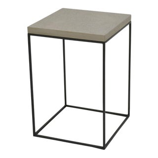 Sarreid Ltd. Concrete Board Top Side Table