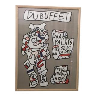 1973 Original Jean Dubuffet Lithograph