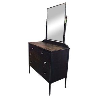 Vintage Metal Dresser