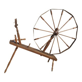 1800s Spinning Wheel