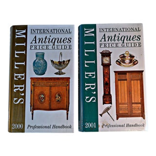 Miller Antique Price Guide 2000 & 2001 - A Pair