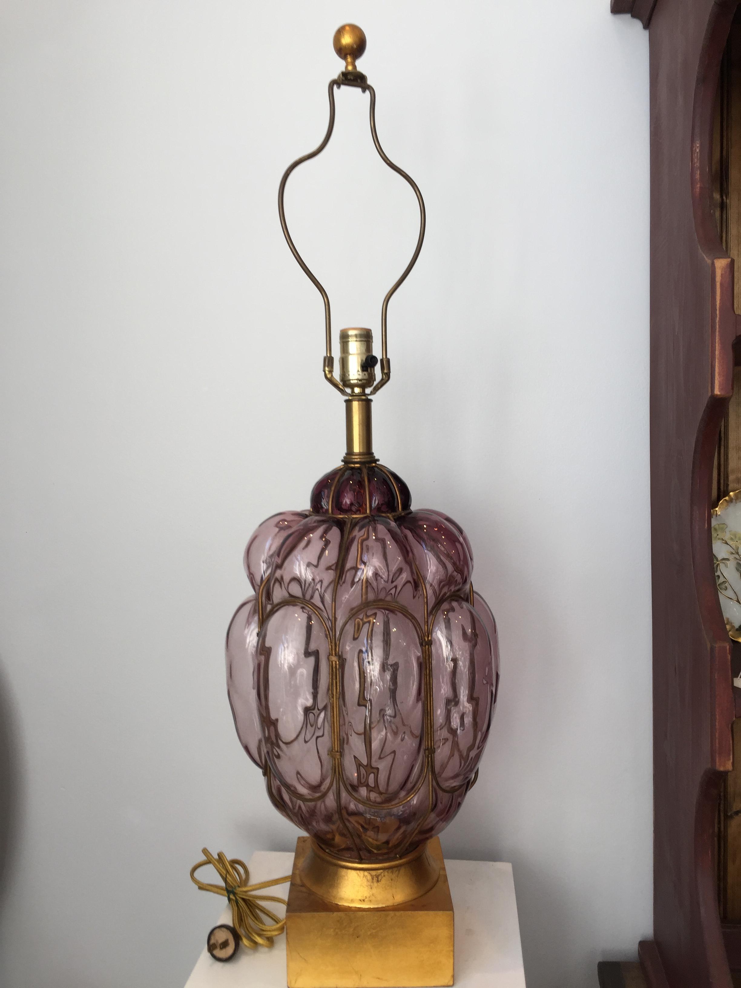 Vintage Frederick Cooper Lamp 112