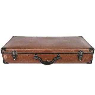 Vintage Gerardo Vulcanized Fiber Suitcase