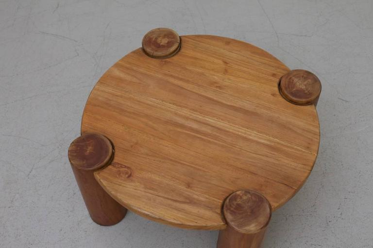Heavy Solid Wood Coffee Table   Image 3 Of 5