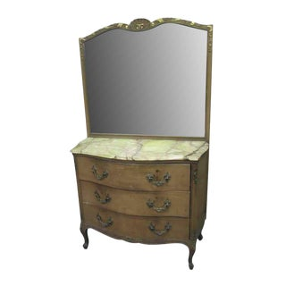 French Dresser With Mirror