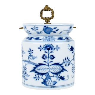 Meissen Blue Storage Jar