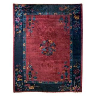 Chinese Deco Carpet