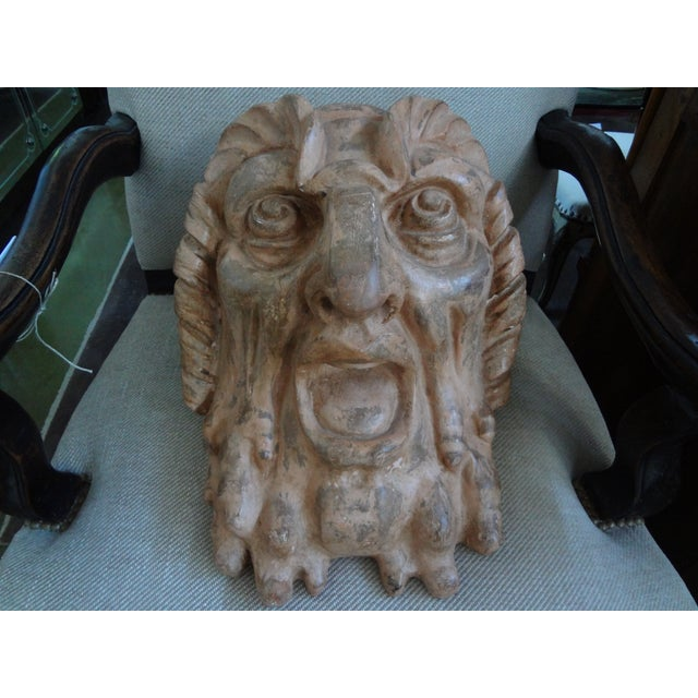 Antique French Baroque Terra Cotta Bust - Image 2 of 9