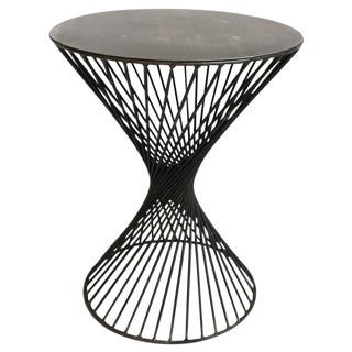 Industrial Architectural Side Table