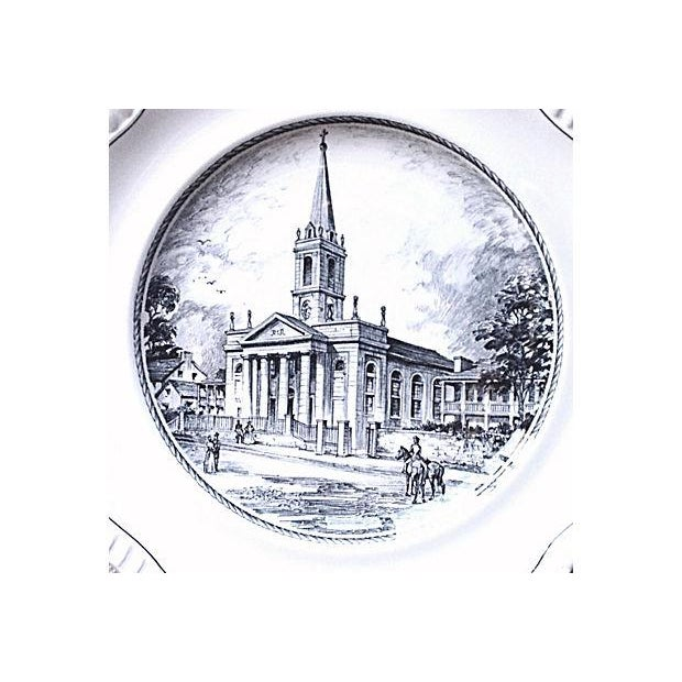 """Copeland Spode's """"The Cathedral"""" Plate - Image 3 of 5"""