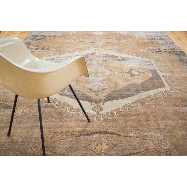 "Distressed Oushak Carpet - 7'10"" X 11' - Image 8 of 9"