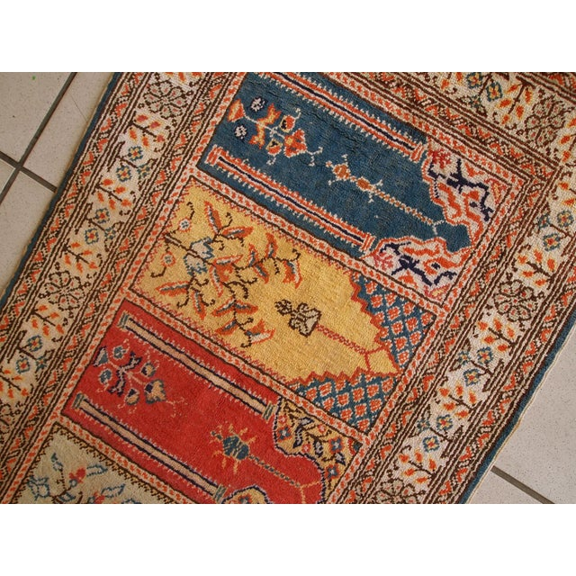 1960s Handmade Turkish Kayseri Runner - 2' X 5.6' - Image 3 of 10