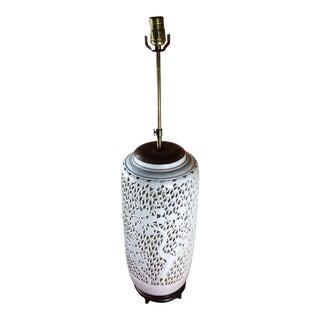 Illuminating Blanc De Chin Table Lamp
