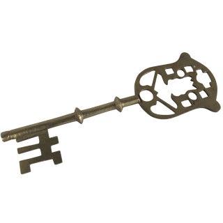 Large Brass Key