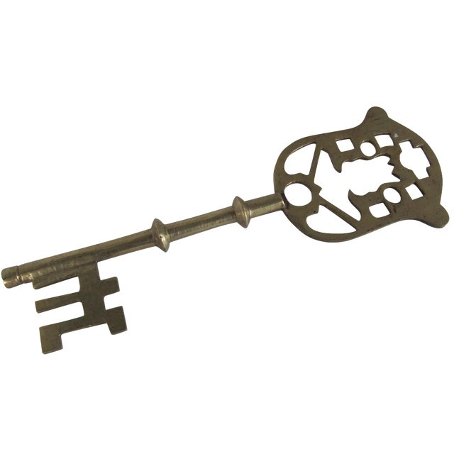 Image of Large Brass Key