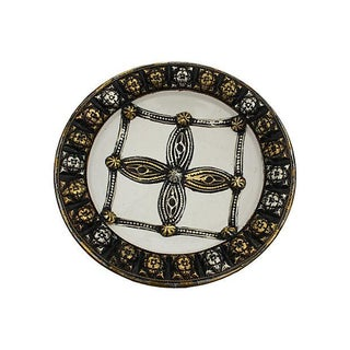 Moroccan White Wall Plate