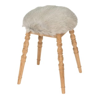 Sarreid LTD Light Gray 'Winoma' Stool