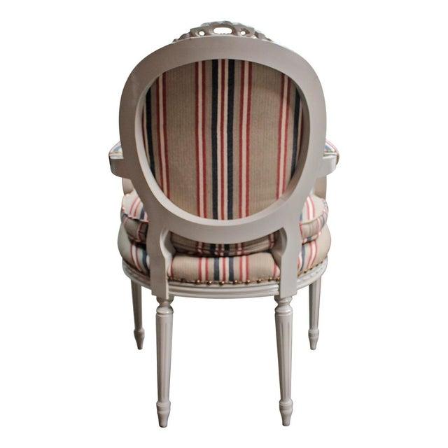 Image of Swedish Gustavian Style Armchair