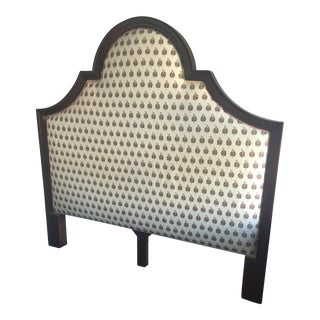 Upholstered Wood-Frame Queen Headboard