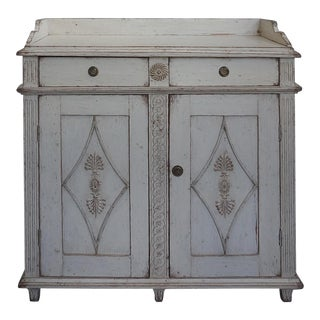 Neoclassical Sideboard with Gallery Top (#50-02)