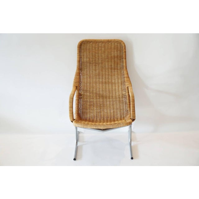 Image of Rare Dirk van Sliedregt Chair and Ottoman