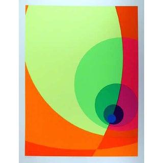 "1980 Herbert Aach ""Split Infinity #14bs"" Print"