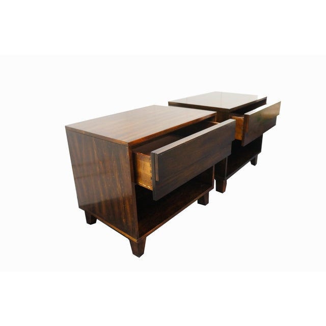 Mid-Century Modern Nightstands- A Pair - Image 5 of 9
