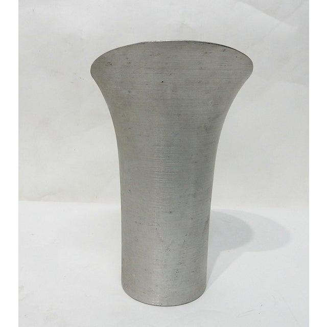 Image of Russel Wright Spun Aluminum Pitcher