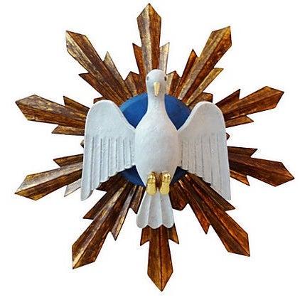 Wooden Dove Sunburst - Image 1 of 7