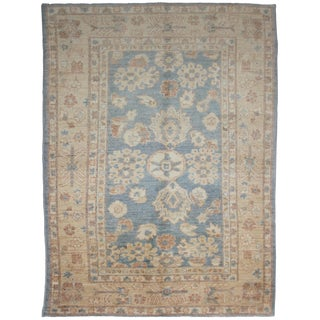 "Aara Rug Inc. Hand Knotted Oushak Rug - 8'1"" X 5'5"""