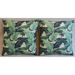 Image of Banana Leaf Pillows - A Pair