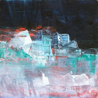 Paul Ashby Abstract Modern Oil Painting