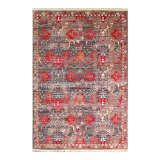 Picasso-Soft-Turkish-Red-Rug 5'3''x 7'7''