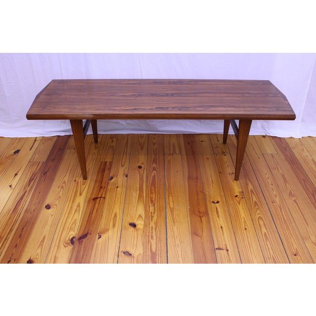 Danish Mid Century Rosewood Coffee Table - Image 2 of 5