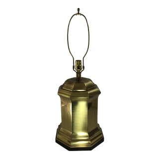 Frederick Cooper Asian Brass Canister Lamp