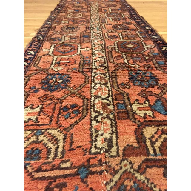 Vintage Hand Woven Persian Runner - 2′6″ × 8′ - Image 7 of 10
