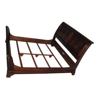 Ethan Allen King Sleigh Bed