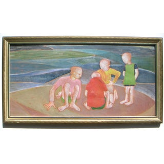 Mid-Century Expressionist Painting