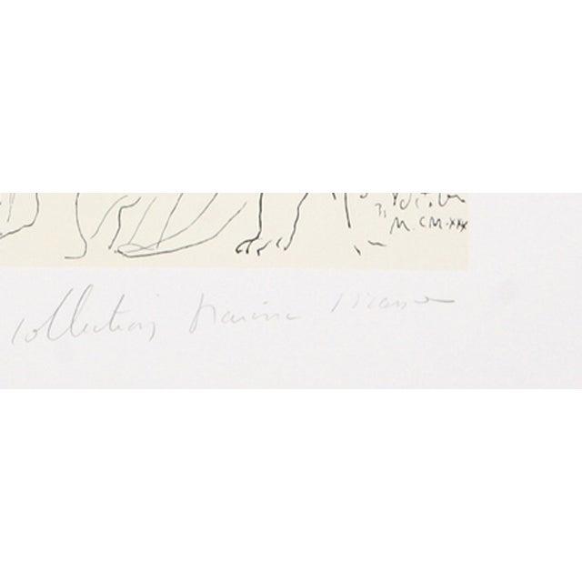 Pablo Picasso, Le Pientre Et Modele, Lithograph - Image 2 of 2
