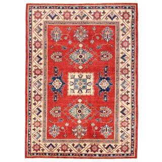 Pasargad Kazak Wool Rug - 5' X 7'