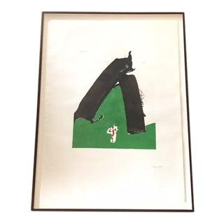 "Robert Motherwell Basque Suite ""Untitled"" Screenprint 1971"