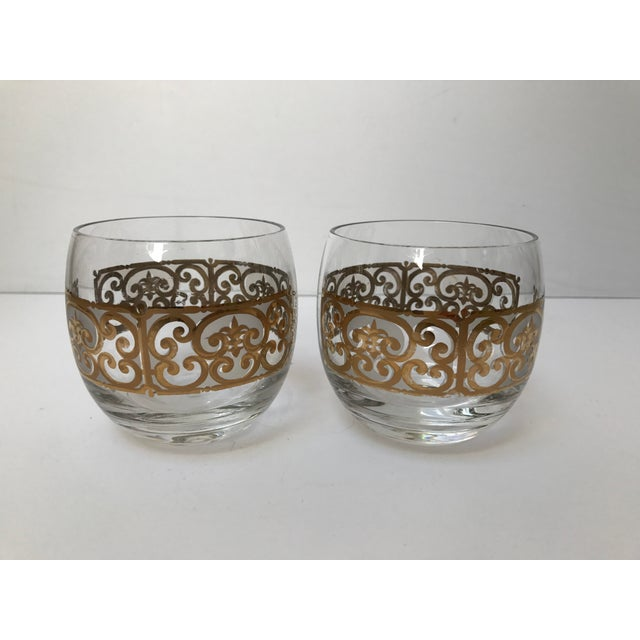 Georges Briard Roly Poly Filligree Glasses -- A Pair - Image 2 of 5