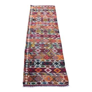 Turkish Wool Kilim Rug - 2′3″ × 5′10″