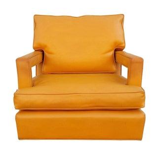 Mid-Century Custom Swivel Arm Chairs - A Pair