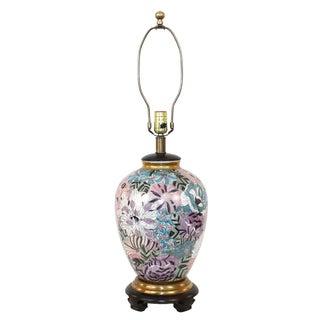 Vintage Frederick Cooper Japanese Porcelain Lamp