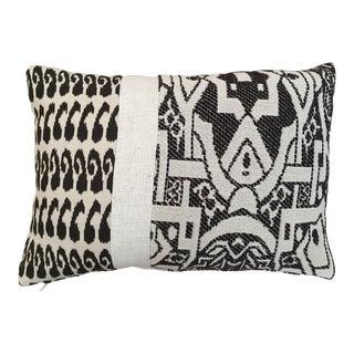 Kim Salmela Tobacco & Cream Bold Graphic Pillow