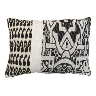 Kim Salmela Tobacco & Cream Bold Graphic Pillow