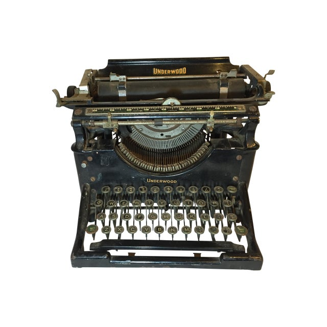 Antique 1908 Black Underwood Typewriter - Image 1 of 11