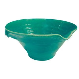 Large Sage Green Mixing Ceramic Bowl